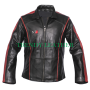 mass effect 3 commander shepard black and red n7 leather jacket