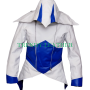 assassins creed 3 III conner kenway hoodie/coat/jacket cosplay costume leather