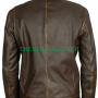 contraband mark wahlberg's distressed brown leather jacket