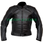Batman black bikers real leather jacket