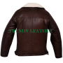 Men's fashionable brown winter jacket