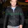Bourne Legacy Jeremy Renner Black Leather Jacket