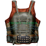 bane - the dark knight rises batman synthetic/faux(pu) leather vest jacket