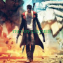 devil may cry 5 - dmc 5 - dante fauxans real cow leather trench coat costume jacket.