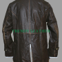 "bane the dark knight rises ""tom hardy""brown distressed real leather trench coat / jacket"