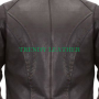 women's classic bikers racing real leather jacket.