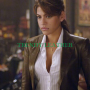 ghost rider roxanne simpson real leather jacket