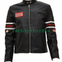 house md gregory dr.house bikers real leather jacket
