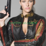 jill wagner krista blade the series real leather jacket