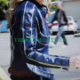 jennifer morrison once upon a time blue leather jacket