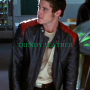 jon abrahams bobby prinze scary movie leather jacket