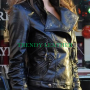 summer glau terminator sarah connor leather jacket