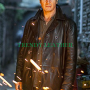 taken: bryan mills (liam neeson) real leather jacket