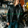 taylor kitsch covenant black real leather jacket