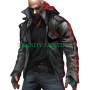 prototype 2 james heller black real leather jacket