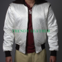 ryan gosling drive scorpion 2 way men's bikers jacket