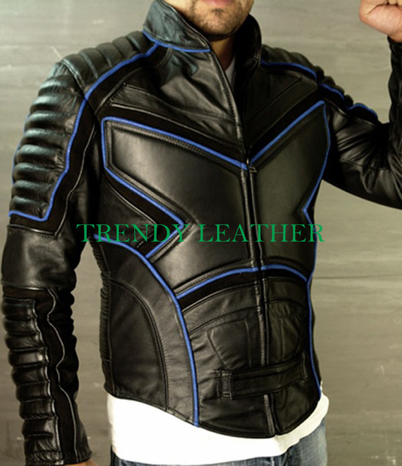 Blue Leather Jackets For Men  Mens Blue Leather Jackets