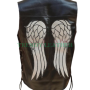 the waling dead daryl dixon angel leather vest jacket