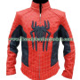the amazing spiderman 2 faux leather jacket