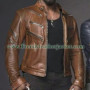 Michael Jai White Arrow Real Leather Jacket