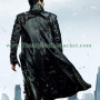 Star Trek Into Darkness Real Cow Leather Jacket Coat