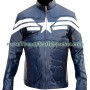 captain america 2014 the winter soldier faux leather jacket