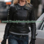 Fringe Anna Torv (Olivia Dunham) Biker Leather Jacket