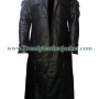 The Punisher Thomas Jane Frank Castle Leather Trench Coat,