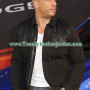 fast and furious 6 vin diesel inspired black jacket