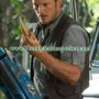 Chris Pratt Owen Jurassic World Leather Vest jacket