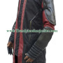 Age of Ultron Hawkeye Denim&Faux Leather with Sleeve Padding