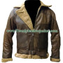 Polo Shearling Brown Ralph Lauren Bomber leather jacket