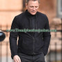 Spectre James Bond (Daniel Craig) Suede Leather Jacket