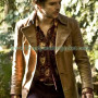 TV Series Alice Mad Hatter Brown Coat