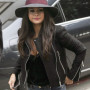 Selena Gomez Black Real Cowhide Leather Jacket