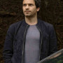 Santiago Cabrera Salvation Suede Leather Jacket 2