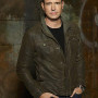 Scott Foley Whiskey Cavalier Brown Real Cowhide Leather Jacket
