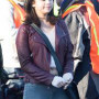 Selena Gomez The Fundamentals Of Caring Real Cowhide Leather Jacket 2