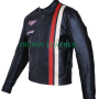 steve mcqueen le-man grand prix real leather jacket