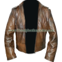 xmen wolverine days of future past real leather jacket