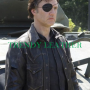 the walking dead governor david morrissey real leather jacket
