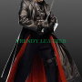 blade trinity wesley snipes trench real leather coat