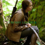 the hunger games (katniss everdeen) real leather jacket
