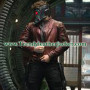 Guardians of the Galaxy Chris Pratt Red Real Leather Jacket