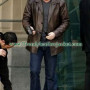 24 Series Jack Bauer Brown Real Leather Jacket