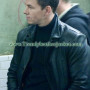 Max Payne mark walberg Black Movie Leather Jacket