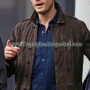 Christian Grey Fifty Shades Darker Leather Jacket