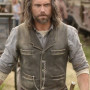 Anson Mount Brown Real Cowhide Leather Vest