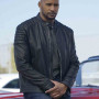 Henry Simmons Agents Of S.H.I.E.L.D. Dark Blue Real Sheep Skin Leather Jacket