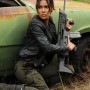Daniella Alonso Revolution Black Real Cowhide Leather Jacket 3